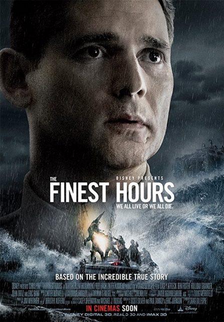 Affiche Poster finest hours disney