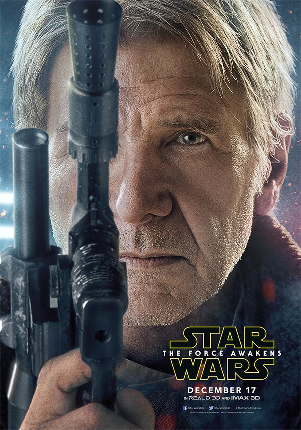Affiche personnage Han Solo