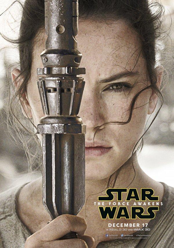 Affiche personnage Rey
