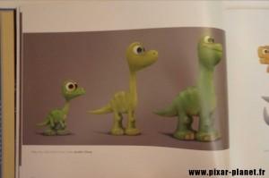 pixar disney art of good dinosaur livre book voyage arlo