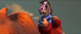 bubbha personnage character pixar disney voyage arlo good dinosaur