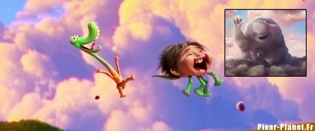 pixar disney voyage arlo good dinosaur clin oeil easter egg