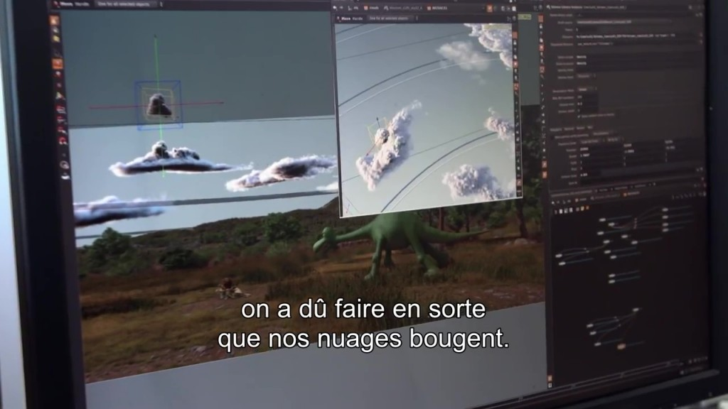 pixar disney voyage arlo coulisse making-of good dinosaur