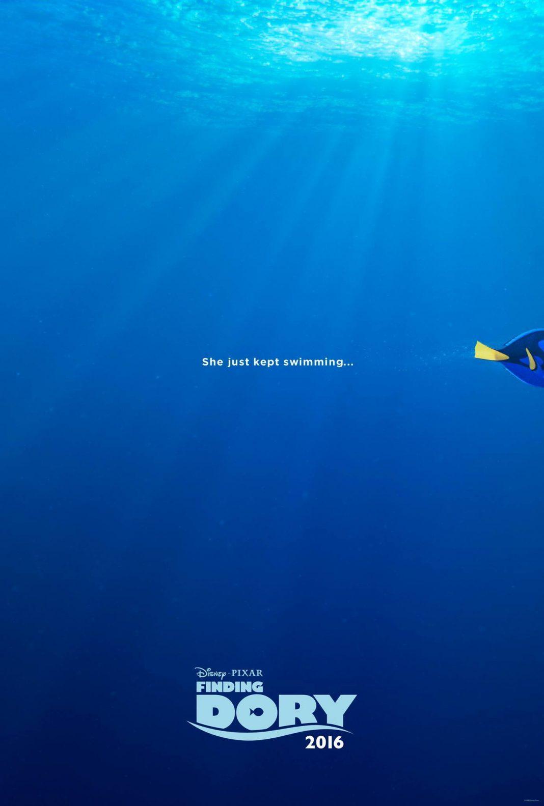 pixar disney affiche poster monde de dory finding