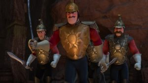 disney raiponce personnage character capitaine gardes captain guards