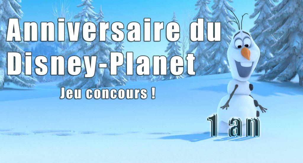 disney planet anniversaire