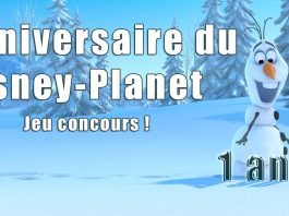 disney planet anniversaire