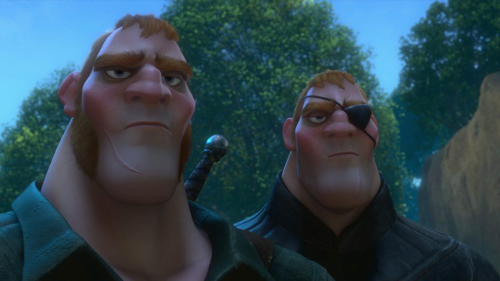 disney raiponce personnage character frère stabbington brothers