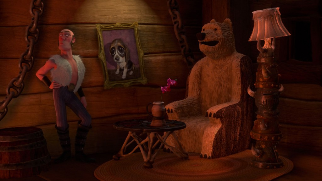disney raiponce personnage character gunther
