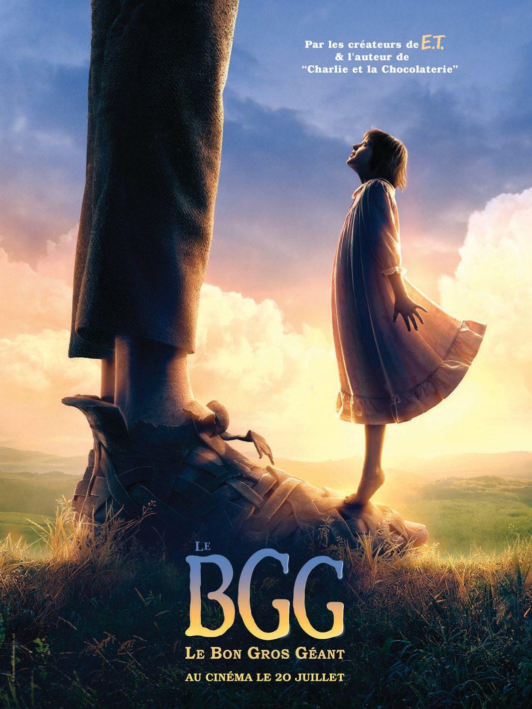 Disney le bon gros géant affiche bgg