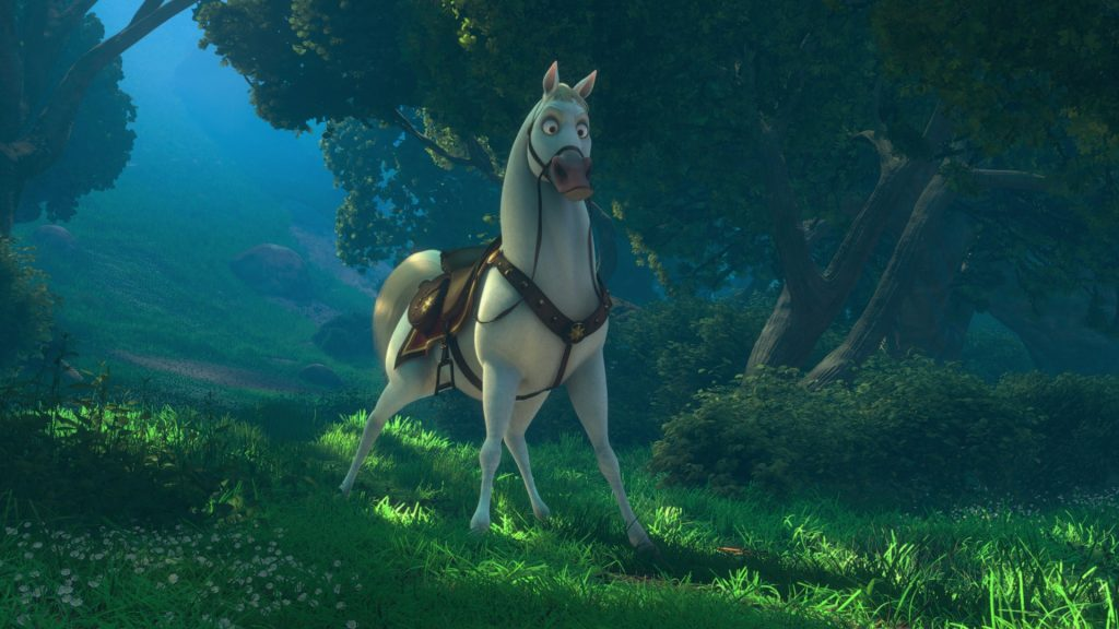 disney raiponce personnage character maximus cheval horse