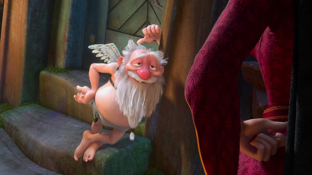 disney raiponce personnage character satyre shorty