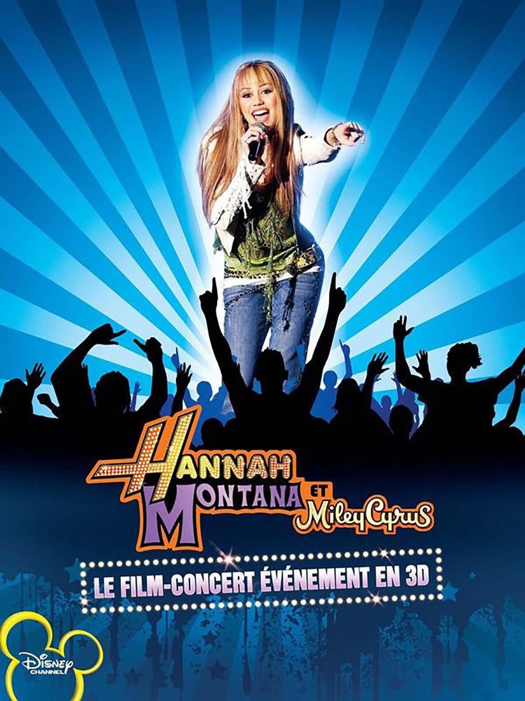 Affiche poster hannah montana miley cyrus concert disney