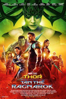 Affiche Poster Thor Ragnarok Disney Marvel