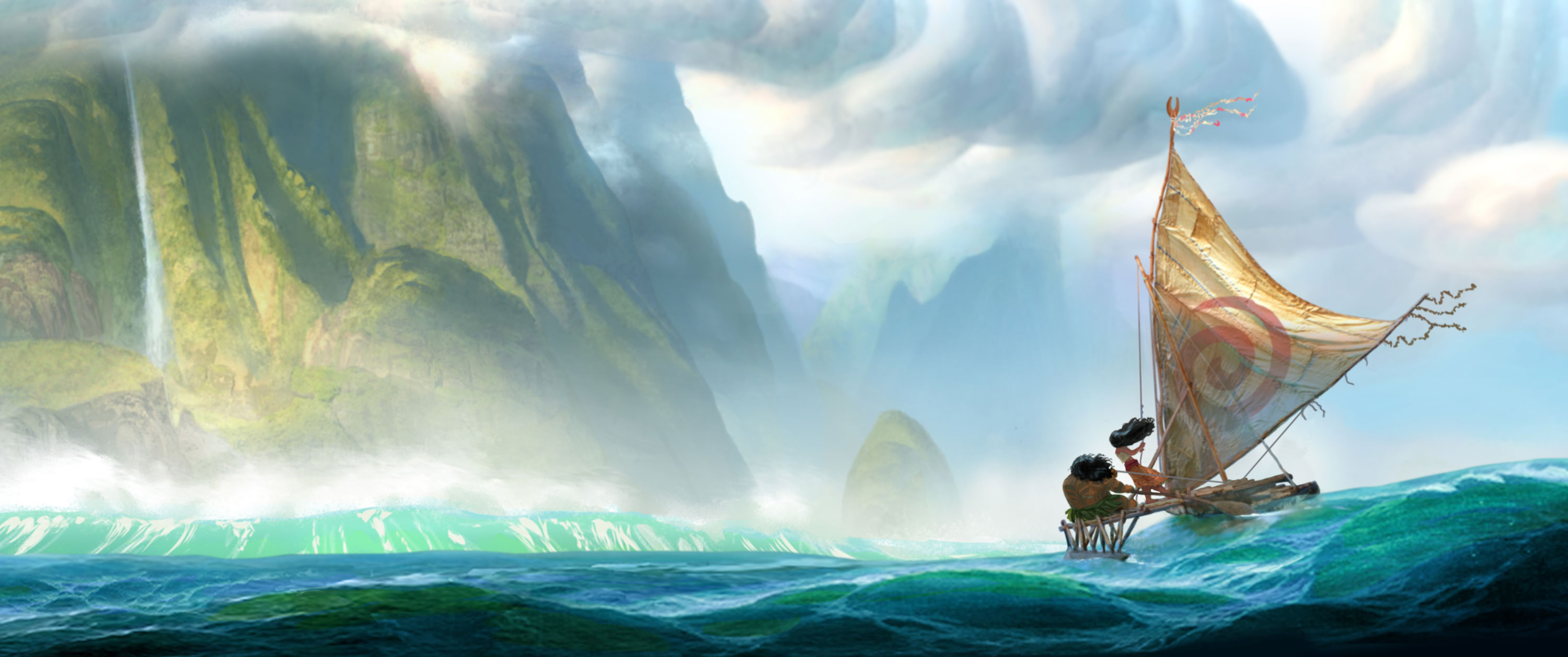 disney artwork vaiana legende bout du monde moana