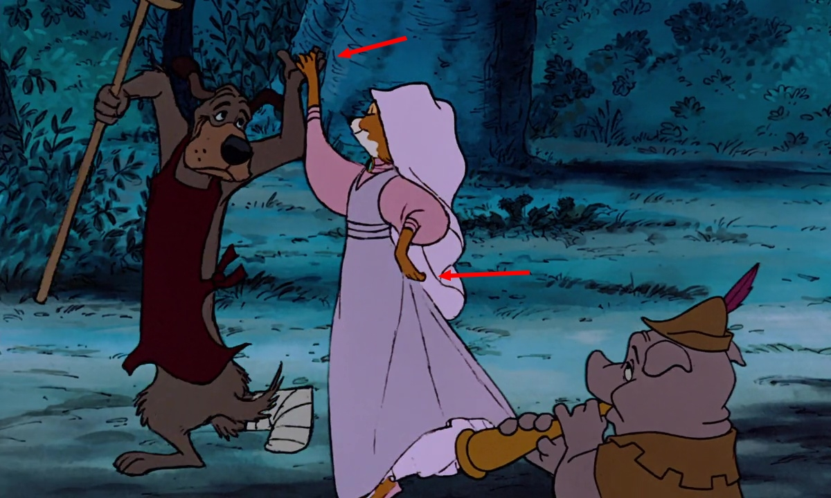 Les clins d'oeil dans « Robin des Bois »  DisneyPlanet ~ Image Robin Des Bois Disney