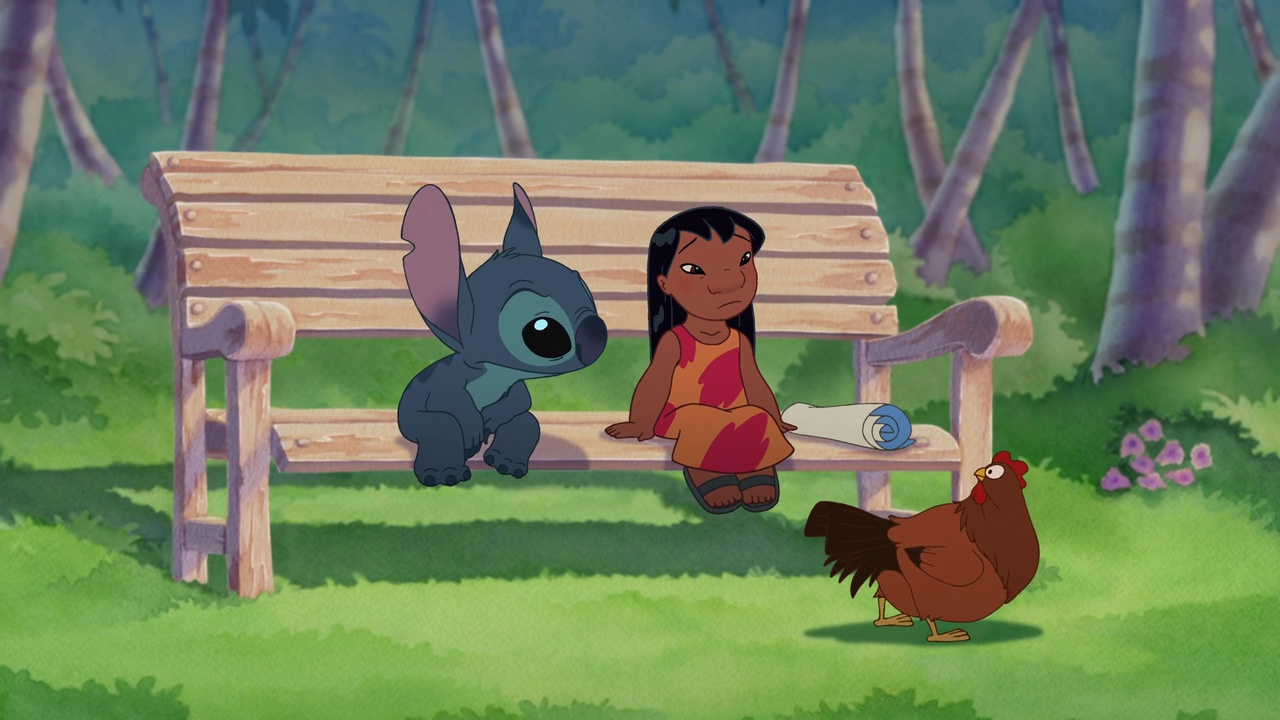 faux raccords disney lilo et stitch 2