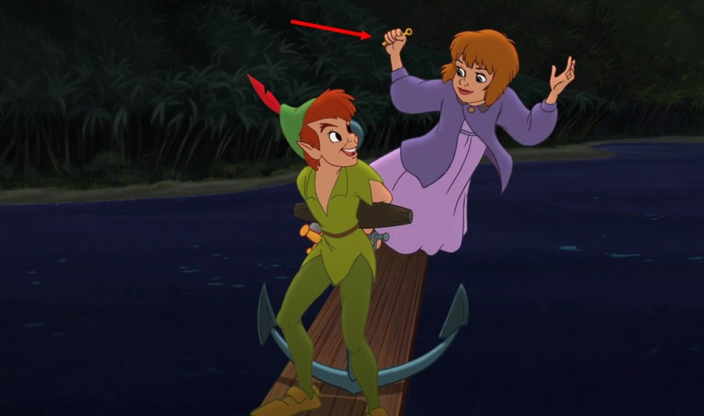 faux raccords peter pan 2 disney