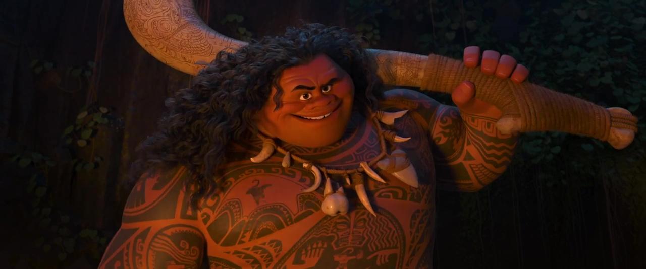 Maui personnage dans vaiana la l gende du bout du monde disney planet - Du bout du monde lattes ...