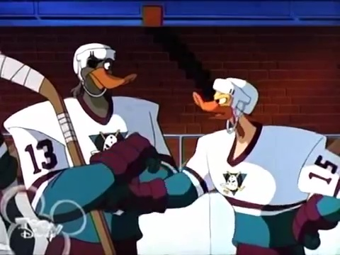 Disney serie migthy ducks