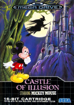 Castle of illusion megadrive disney