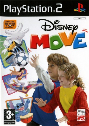 Disney move jeu video ps2