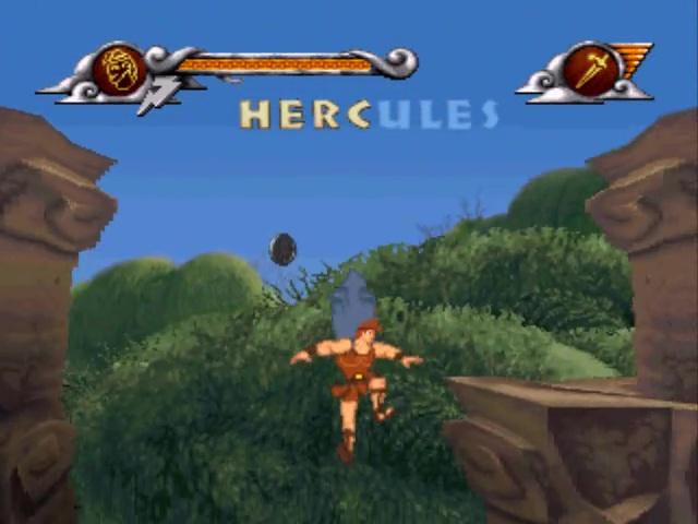 Hercule jeu vidéo disney