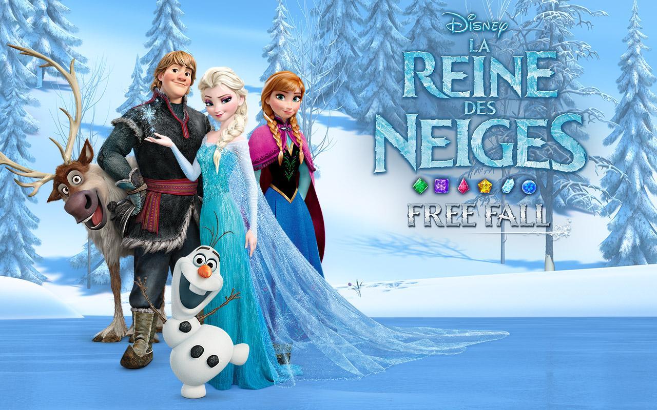 la reine des neiges free fall disney jeu vidéo