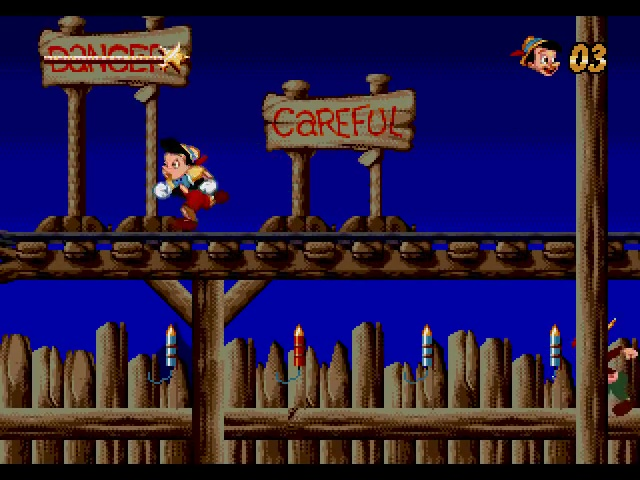 Pinocchio Disney jeu vidéo
