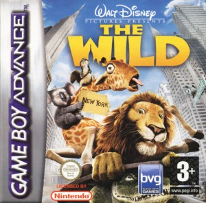 the wild disney jeu video