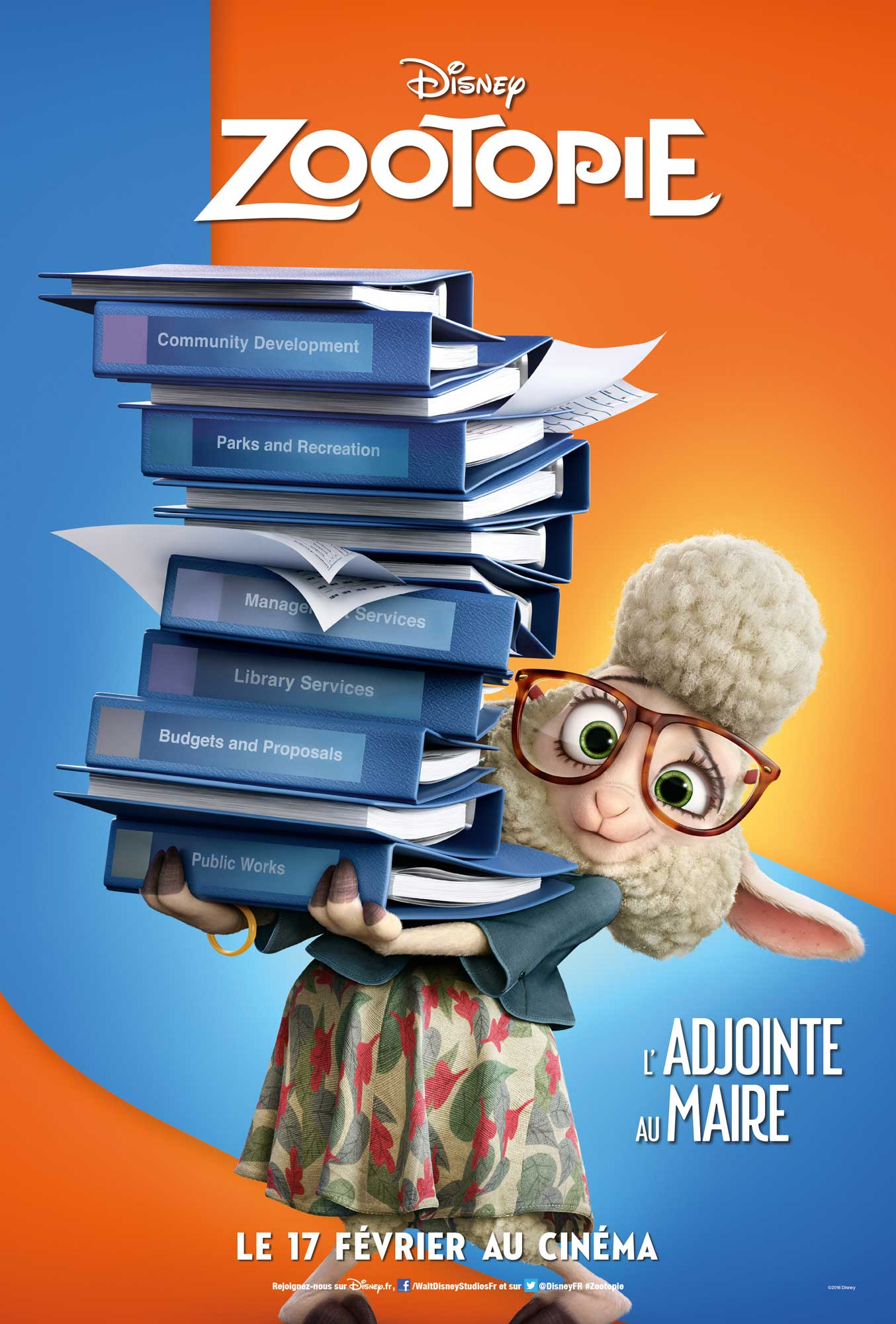 disney affiche poster zootopie zootopia personnage character