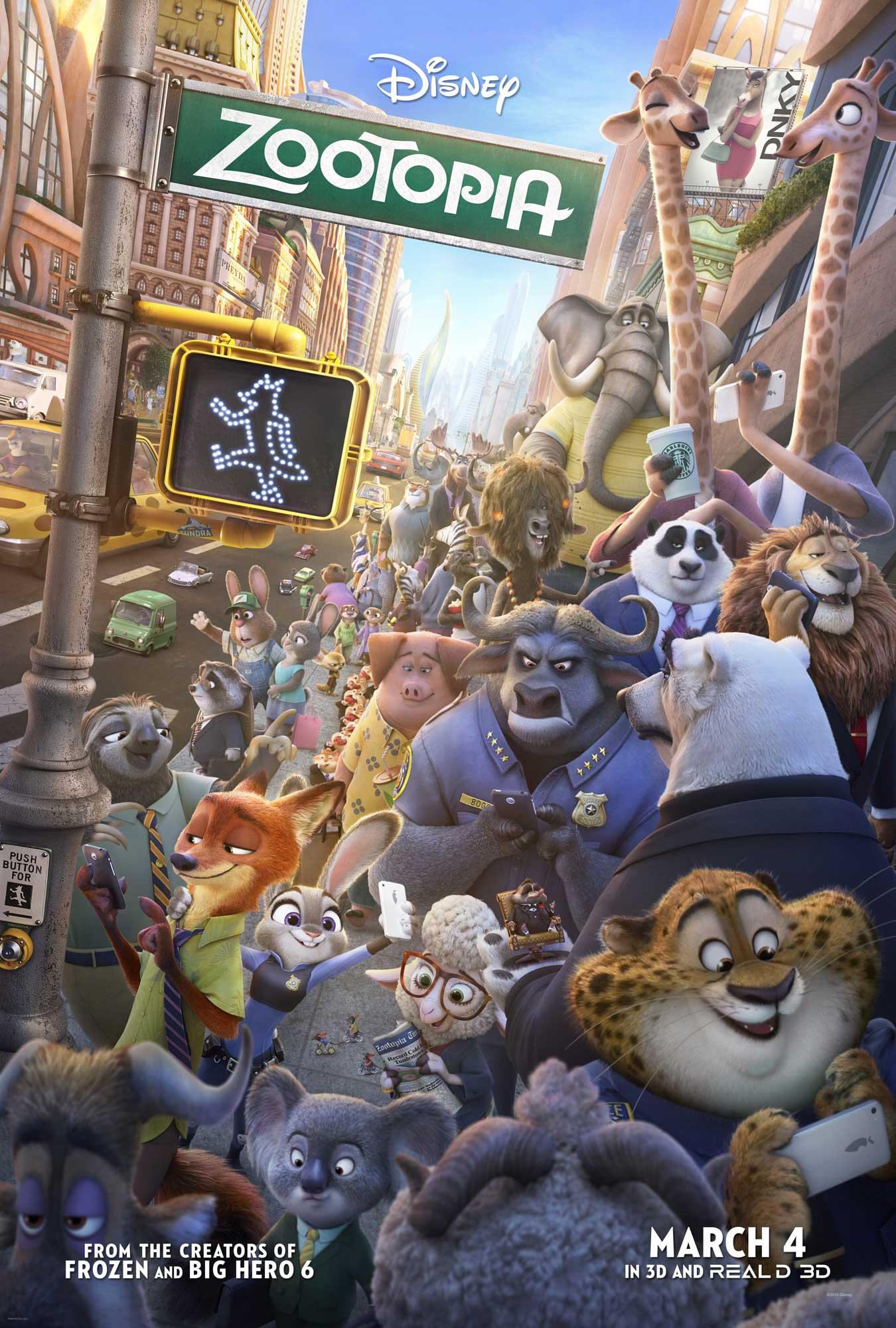 disney affiche poster zootopie zootopia