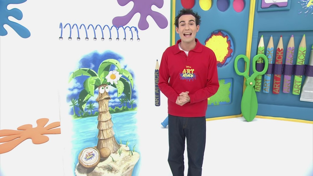 disney channel disney junior art attack