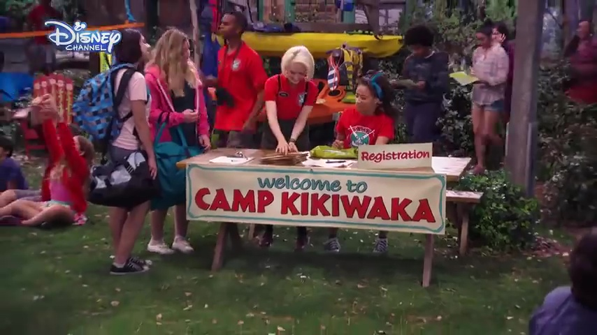 disney channel camp kikiwaka serie
