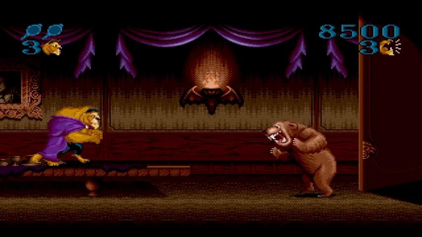jeu vidéo disney la belle et la bête roar of the beast