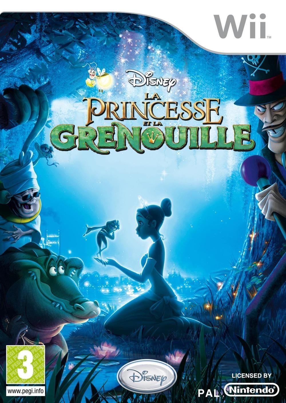 disney la princesse et la grenouille jeu video