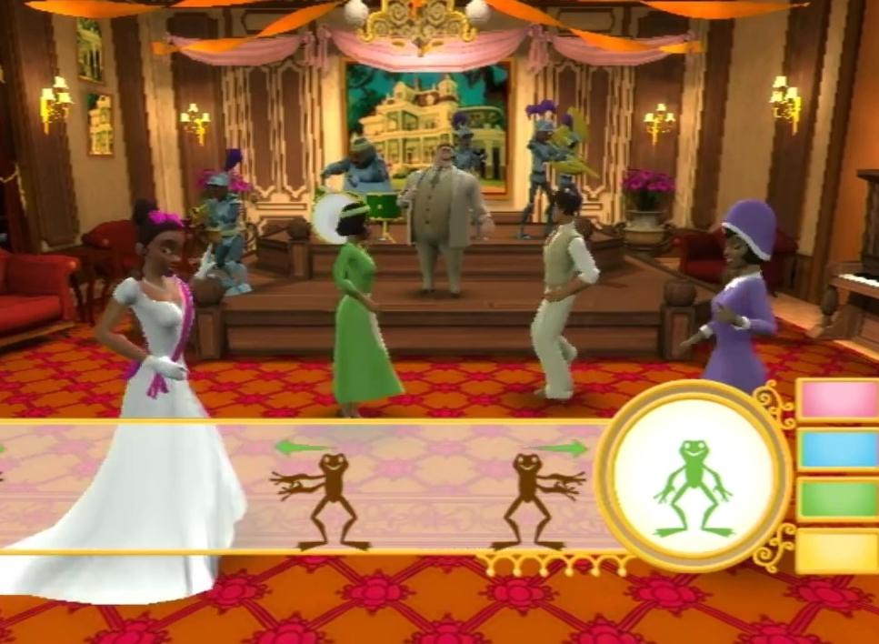 disney la princesse et la grenouille jeu video