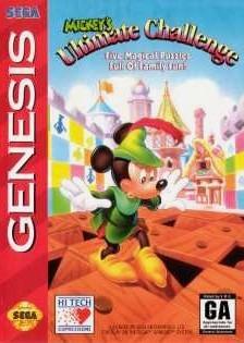 disney mickey's ultimate challenge jeu vidéo