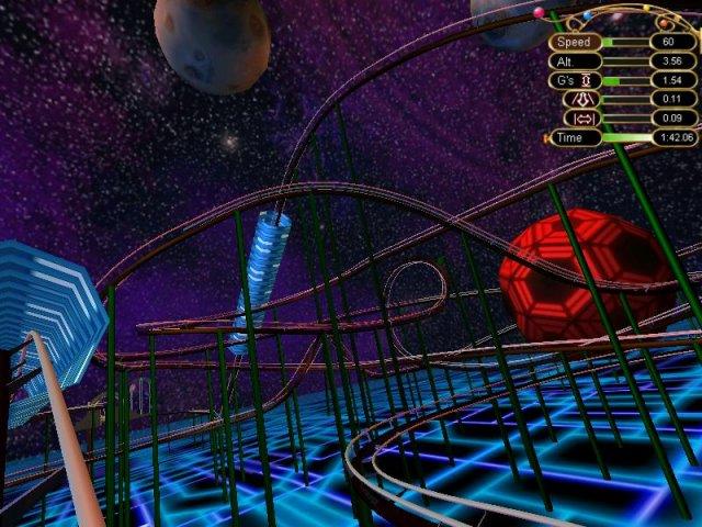 disney rollercoaster simulator