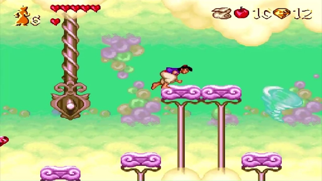 aladdin snes jeu video disney