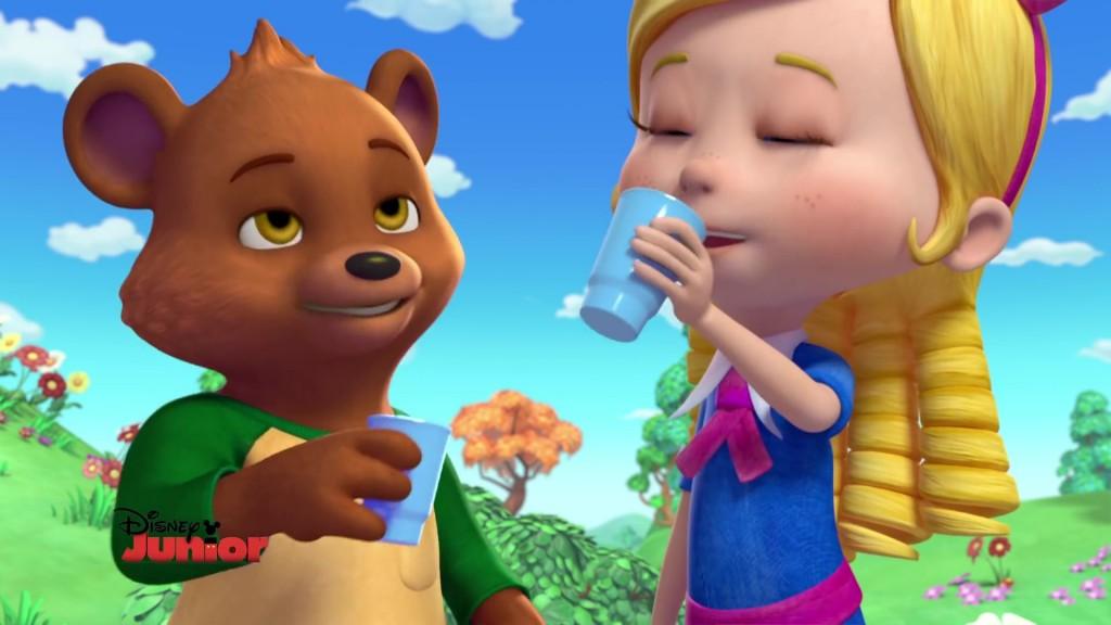 boucle d'or et petit ours disney junior
