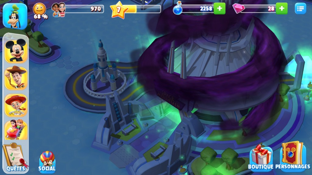 disney magic kingdoms gameloft jeu