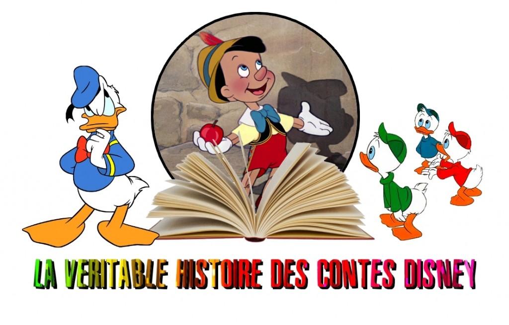 la veritable histoire des contes disney Pinocchio