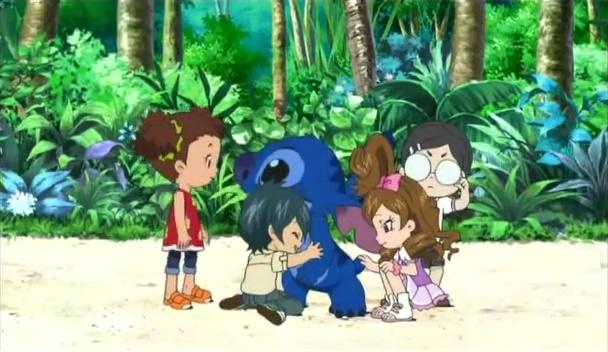 Stitch! disney japan serie