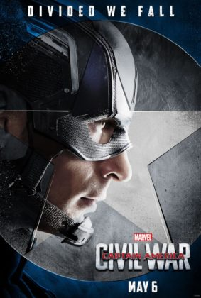 Affiche Poster Captain America Civil War Disney Marvel