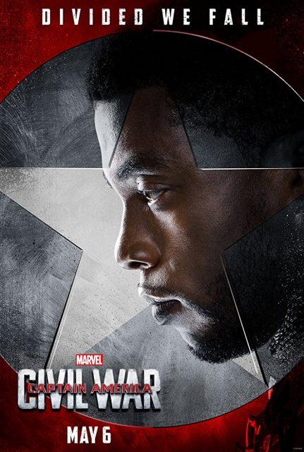 Affiche Poster Captain America Civil War Disney Marvel