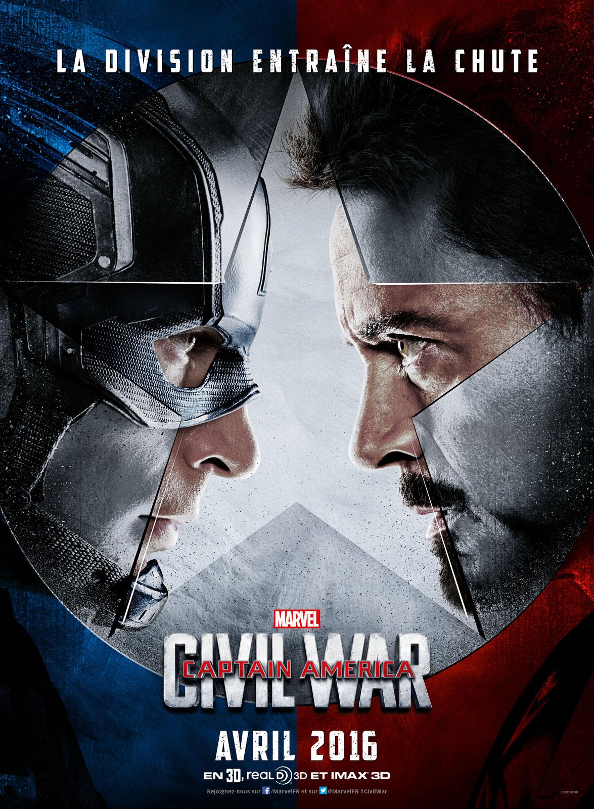 disney marvel captain america civil war affiche poster