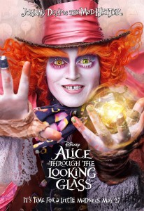 disney affiche poster alice de l'autre côté du miroir through the looking glass