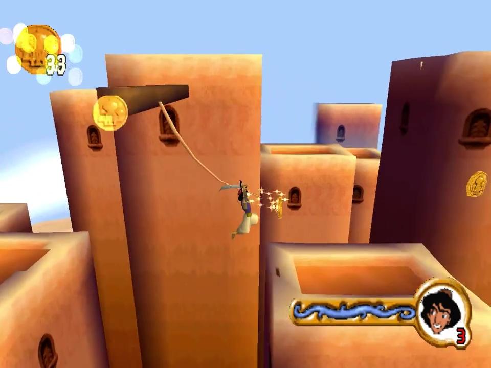 aladdin la revanche de nasira jeu video disney