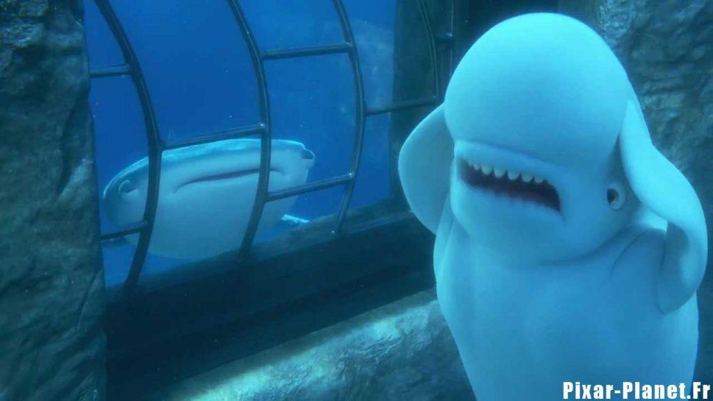 pixar disney bailey personnage le monde de dory finding character